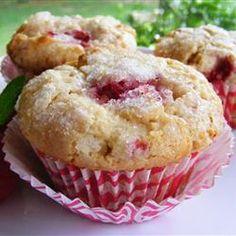 Raspberry Cream Muffins