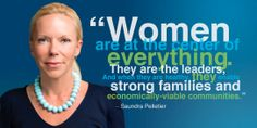 Saundra Pelletier is the CEO of Woman Care Global