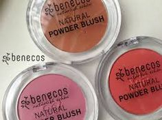 Benecos Natural Blusher in Toasted Toffee, Sassy Salmon and Mallow Rose