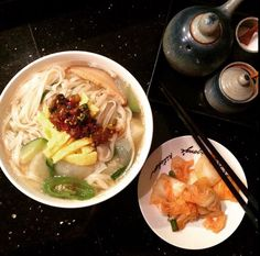Hand cut noodle soup
