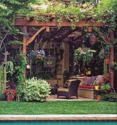 Dreamy Outdoor Seating