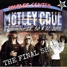 MÖTLEY CRÜE - Staples Center - Los Angeles, CA