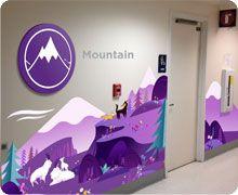 Wayfinding Mountain zone