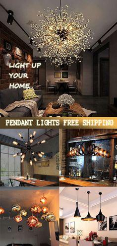 Home Bedroom Design, Home Design Diy, Living Room Designs, Living Room Decor, Home Living Room, House Design, Faux Wooden Beams, Modern Hanging Lights, Modern Pendant Light