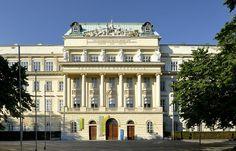 Main building of the Vienna University of Technology. International School, Vienna, University, Urban, Technology, Mansions, House Styles, Building, Home