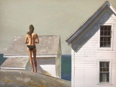 I was invited to the Bo Bartlett Center's opening next week and while I sadly can't make it I was reminded all over again how much I love h. Eloy Morales, Bay Area Figurative Movement, Bo Bartlett, Tower House, Magic Realism, Grain Of Sand, David Hockney, Classic Paintings, Portraits