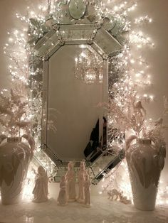 Vanity With String Lights : Pinterest The world s catalog of ideas