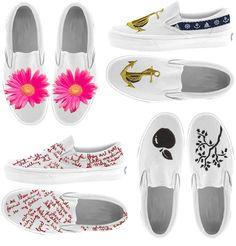 customize canvas shoes