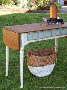"""This stunning country desk did not start out so beautiful! Check out the before to be even more """"wowed"""" by the after!"""