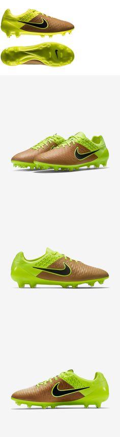 9c6d2c30c1e0 Men 109133  Nike Magista Opus Leather Fg Soccer Cleats Mens Size 7.5 Canvas  Volt 768890
