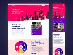 Tubular Website Redesign by Evan Place ◒ Ui Design Inspiration, Job Opening, Branding Design, Web Design, Success, Website, Digital, Landing, Brand Design