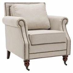 Cottage Style Chairs Turquoise Bean Bag Chair 81 Best Images In 2019 Joss Amp Main Arm Beige With Nailhead Trim And English Caster Feet
