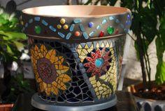 Mosaic Pots, Planter Pots