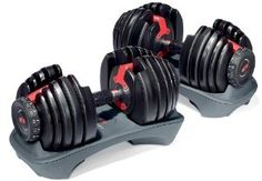 Adjustable Dumbbell weights are awesome!