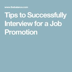 here are tips to answer common job promotion interview questions promotion and interview advice