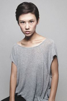 courtney mccullough - Androgynous model