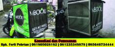Tas Delivery / Box delivery Order pesanan Mbokku. Makanan tetap terjaga hangat sampai konsumen