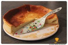 Gâteau à la faisselle et au citron - La tête dans la farine