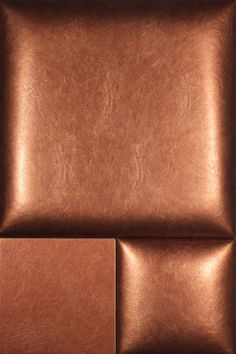 Envi Weathered metal COPPERKETTLE NappaTile™ Faux Leather Wall Tiles by Concertex