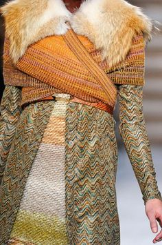 Texturizing; Missoni, Fall/Winter 2012.