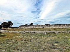 Anfiteatro romano. Empúries. Girona