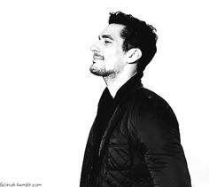 Im in love all over again...with David James Gandy ~ i love his smile and laugh <3 *cue the fangirling*