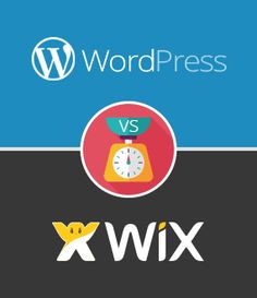 Wix vs WordPress - See the pros & cons of each website builder & which one is better for you.