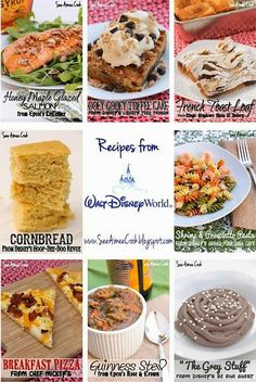 Disney Recipe Round-Up! annette@wishesfamilytravel.com