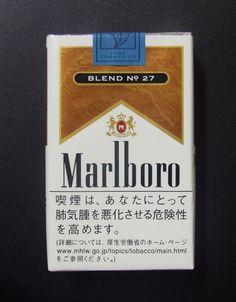 Embalagem de Marlboro Blend 27
