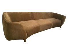 Mobili vittoriani ~ Victorian velvet and mahogany sofa circa 1890 divano moderno