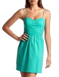 Corset Bust A-Line Dress