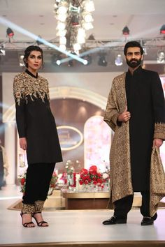 Zaheer Abbas Wedding Dresses Collection 2016 At Telenor Bridal Couture Week TBCW (7)