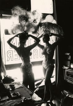 Peter Basch 'Latin Quarter Showgirls ' 1950s