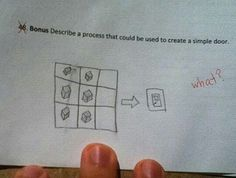 I qould SO do this if I ever had this question in a test XD