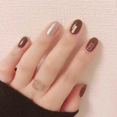 Natural Color Nail Art Designs 2019 Summer – Small Flash in 2020 Classy Nail Designs, Short Nail Designs, Fall Nail Designs, Orange Nail Art, Pink Nail Art, Classy Nails, Stylish Nails, Natural Color Nails, Peach Nails
