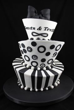 Black & White Mad Hatter