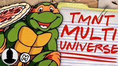 Is The TMNT Multi-Verse Theory Canon? is amazing. Cartoon Conspiracy, Teenage Mutant Ninja Turtles, Optical Illusions, Tmnt, Theory, Canon, Disney Characters, Fictional Characters, Animation