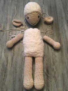 Crochet Panda, Crochet Amigurumi, Crochet Baby, Diy Doll, Dolls, Pattern, Kids, Crafts, Animals