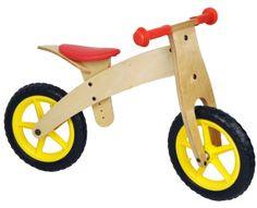 Fa futóbicikli, gyermekkerékpár