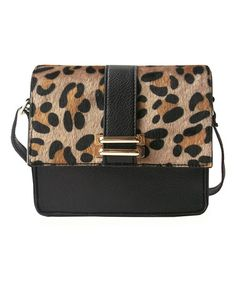 Look what I found on #zulily! Leopard Crossbody Bag #zulilyfinds