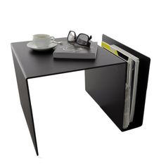 that's what I call smart design. use this as a night stand, a coffee table, a newspaper stand or even standing desk on top of your regular table.