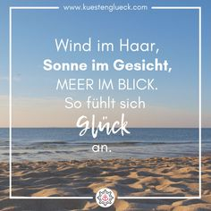 Wind im Haar, Sonne im Gesicht I Meer Spruch I ❤️ Wind in the hair, sun on the face, sea in view. This is how happiness feels ❤️ You can find the most beautiful sayings about the sea on www. Yoga Quotes, Motivational Quotes, Inspirational Quotes, Hotels For Kids, Brene Brown Quotes, Wind In My Hair, Save The Date Cards, You Are The Father, Birthday Quotes