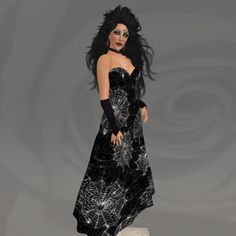 """JP Designs Halloween SpookTaculaR!  Even the Halloween Designs continue our theme of """"Sophistication With An Attitude""""!  The """"Black Widow"""" and """"Gothic ver 2.0"""" are now on sale in time for you to look SpookTaculaR for all of the upcoming events.    While you are in the shop pickup the Halloween Gift for all of our customers old and new!  JP Designs Pasha Theas Jay Copperfield Mesh Clothing, Halloween Designs, Strapless Dress Formal, Formal Dresses, Halloween Gifts, Upcoming Events, Black Widow, Old And New, Jay"""