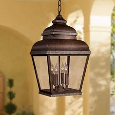 """MINKA LAVERY Mossoro 22"""" High Outdoor/Indoor Hanging Light $175 + AN EXTRA 15% OFF AT CHECKOUT - USE PROMO CODE: HELLOFALL19 FREE SHIPPING OR PICK UP - WEBSITE: GlowOnSunset.Net"""