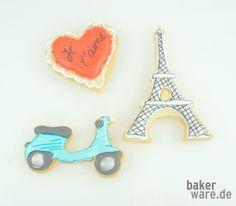 Tolle Ideen für ein romantisches Wochenende zu Zweit...süße Kekse!  Anschauliche Anleitungen und leckere Rezepte findet Ihr auf www.bakerware.de.