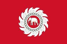State ensign of Siam (1817-1855) Island Info Samui. Tours of Koh Samui and tours to Koh Phangan, Koh Tao, Ang Thong National Marine Park and Koh Nang Yuan. Island Info - The Full Moon Party Experts. http://islandinfokohsamui.com/
