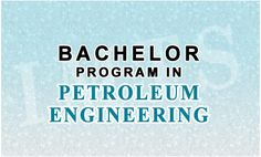 Petroleum Engineering all science subjects