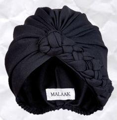 Malaak Turbans...a turban I don't have to tie. #turban #judithm Nicely shaped turban by Malaak.