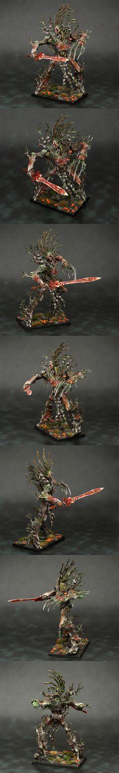 Wood Elf Autumnal Treeman Durthu
