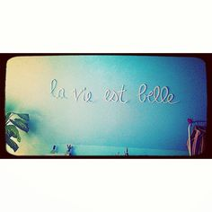 My DIY room lettering